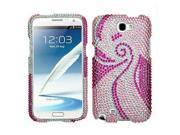 Full Diamond Pheonix Tail Design Case for Samsung Galaxy Note II N7100 9SIA2ZJ4HK6085