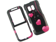 Solid Plastic Phone Design Cover Case Love Drops For Samsung Messager R450