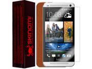 Skinomi Light Wood Full Body Skin+Screen Protector Cover for HTC One Mini