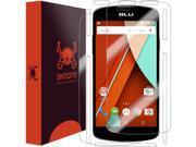 BLU Studio X Mini 4G LTE Screen Protector + Full Body, Skinomi® TechSkin Full Coverage Skin + Screen Protector for BLU Studio X Mini 4G LTE Front & Back Clear HD Film - with Lifetime Warranty