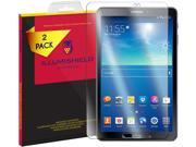 Galaxy Tab A 10.1 Screen Protector (2016, SM-T580, Non-S Pen)[2-Pack], iLLumiShield HD Clear Tempered Ballistic Glass Screen Protector for Galaxy Tab A 10.1 9H 9SIA1BB4P91644