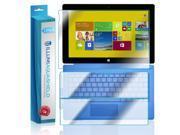 Microsoft Surface Pro 3 Screen Protector + Back Cover (2-Pack), ILLUMI AquaShield Full Coverage Back + Front Screen Protector for Microsoft Surface Pro 3 HD Cle 9SIA1BB4P91341