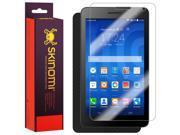 Skinomi? TechSkin - Huawei MediaPad T1 Screen Protector (7.0,LTE) + Carbon Fiber Full Body Skin / Front & Back Wrap Clear Film / Ultra HD and Anti-Bubble Shield 9SIA1BB5317747