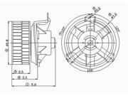 TYC 700070 HVAC Blower Motor New