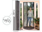 C.R. LAURENCE ES88BRZ CRL Bronze 84'' Euro Retractable Screen Door Kit