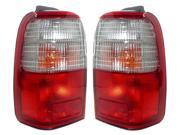 PAIR OF TAIL LIGHTS FIT TOYOTA 4RUNNER 97-00 TO2801123 TO2800123 81550-35121