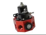 Aeromotive 13209  Fuel Pressure Regulator - Double Adjustable Bypass Regulator
