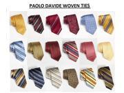 SightHolderDiamonds 5 Pcs Paolo Davide Mens Tie Collection