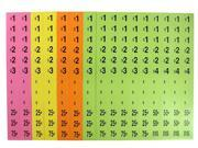 864 Preprinted Price Garage Sale Labels (Color May Vary)