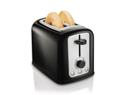 2 Slice Cool Touch Toaster Black