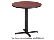 Bistro Series 36 Round Laminate Table Top Regal Mahogany CA36RTRMH