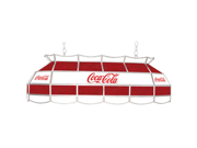 Coca Cola Red White Vintage 40 Inch Tiffany Lamp