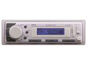 Pyle Marine Receiver AM/FM/MP3/USB White-Mechless unit