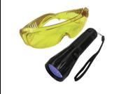 17 LED True UV detection flashlight