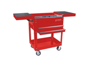 8035R 450 lb. Capacity Compact Slide Top Utility Cart (Red)