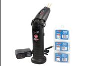 Cordless and rechargeble plastic repair kit.