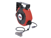 50' HD Extension Cord Reel w/ Lighted T-Tap