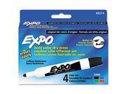 Dry Erase Markers, Bullet Tip, Assorted, 4/Set - SAN88074 9SIA1CK1073608
