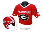 Georgia Bulldogs Youth NCAA Helmet and Jersey Set - FRA-15520F06