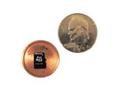 Covert Hollow Spy Coin Micro SD Card Holder (Dollar)