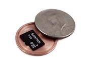 Covert Hollow Spy Coin Micro SD Card Holder (Half Dollar)