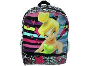 "Tinkerbell Fairies 16"" Silk Printed Kids School Backpack"