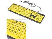 Large Print Keyboard and Mouse combo
