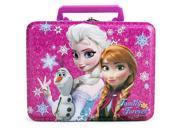 Disney Frozen Anna and Elsa Rectangle Tin Lunch Box 9SIA1CY3MR5202