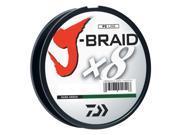 Daiwa J-Braid Dark Green Fishing Line 330 Yards 80lb Test