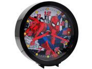 Marvel Officially Licensed Spider Man Dual-Function Analog Clock 6 inch 9SIA1CY4XM9550