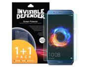 Huawei Honor 8 Pro Screen Protector, Invisible Defender [Full Coverage] 2-Pack Edge to Edge Curved Side Coverage Thin HD Clearness Film 9SIA1D05PW9858