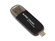 Super Talent USB 3.0 Express Motile, for Samsung Galaxy and Many other Android Smart Phones, Color: Black, 16GB