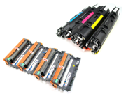 Cisinks ® 8 Pack Compatible Toner Cartridge and Drum unit ( 4 TN210, 4 DR210 ) TN-210 DR210CL DR-210 For Brother DCP-9010CN HL-3040CN HL-3070CW MFC-9010CN MFC-9