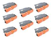 Cisinks ® 8 Pack Compatible Brother TN750 TN-750 TN720 TN-720 Toner Cartridge For