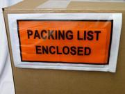 """5.5"""" x 10"""" Packing List Enclosed Envelope Self-Adhesive Shipping Bags Full Face 4000 pcs = 4 Cases"""