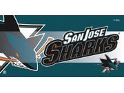 San Jose Sharks Sassafras Decorative Floor Mat Insert