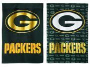 Team Sports America Green Bay Packers Glitter Suede House Flag, 29 x 43 inches 9SIA1DZ6XN7564