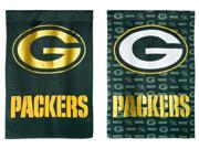 Team Sports America Green Bay Packers Suede Garden Flag, 12.5 x 18 inches 9SIA1DZ3GX4013
