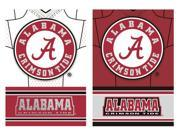 Team Sports America Alabama Crimson Tide Double Sided Jersey Suede House Flag, 29 x 43 inches 9SIA1DZ6KK2471