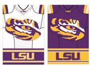 Team Sports America LSU Tigers Double Sided Jersey Suede House Flag, 29 x 43 inches 9SIA1DZ6KK2934