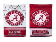 Team Sports America Alabama Crimson Tide Double Sided Jersey Suede Garden Flag, 12.5 x 18 inches 9SIA1DZ6KK3500