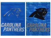 Team Sports America Carolina Panthers Suede Garden Flag, 12.5 x 18 inches 9SIA1DZ6XN7557