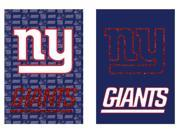 Team Sports America New York Giants Suede Garden Flag, 12.5 x 18 inches 9SIA1DZ3GX6137