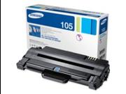 Samsung MLT-D105S  105S OEM Toner: Black Yields 1,500 Pages
