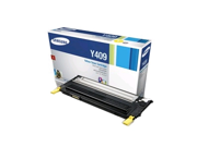 Samsung CLT-Y409S  Y409 OEM Toner: Yellow Yields 1,000 Pages