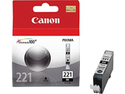 Canon CLI-226BK  226 OEM Ink Cartridge: Black Yields 450 Pages