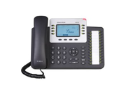 Grandstream GXP2124 SIP Enterprise Phone 4 Line VoIP Phone LCD display PoE