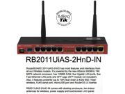 Mikrotik RB2011Ui RouterBOARD RB2011UiAS-2HnD-IN Wireless Router 5 Gigabit LAN