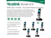 Yealink W56H Bundle of 6 IP DECT VoIP Phone Handset HD Voice Quick Charge