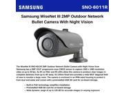 Samsung - SNO-6011R - Samsung WiseNetIII SNO-6011R 2.4 Megapixel Network Camera - Color, Monochrome - Board Mount - 1920